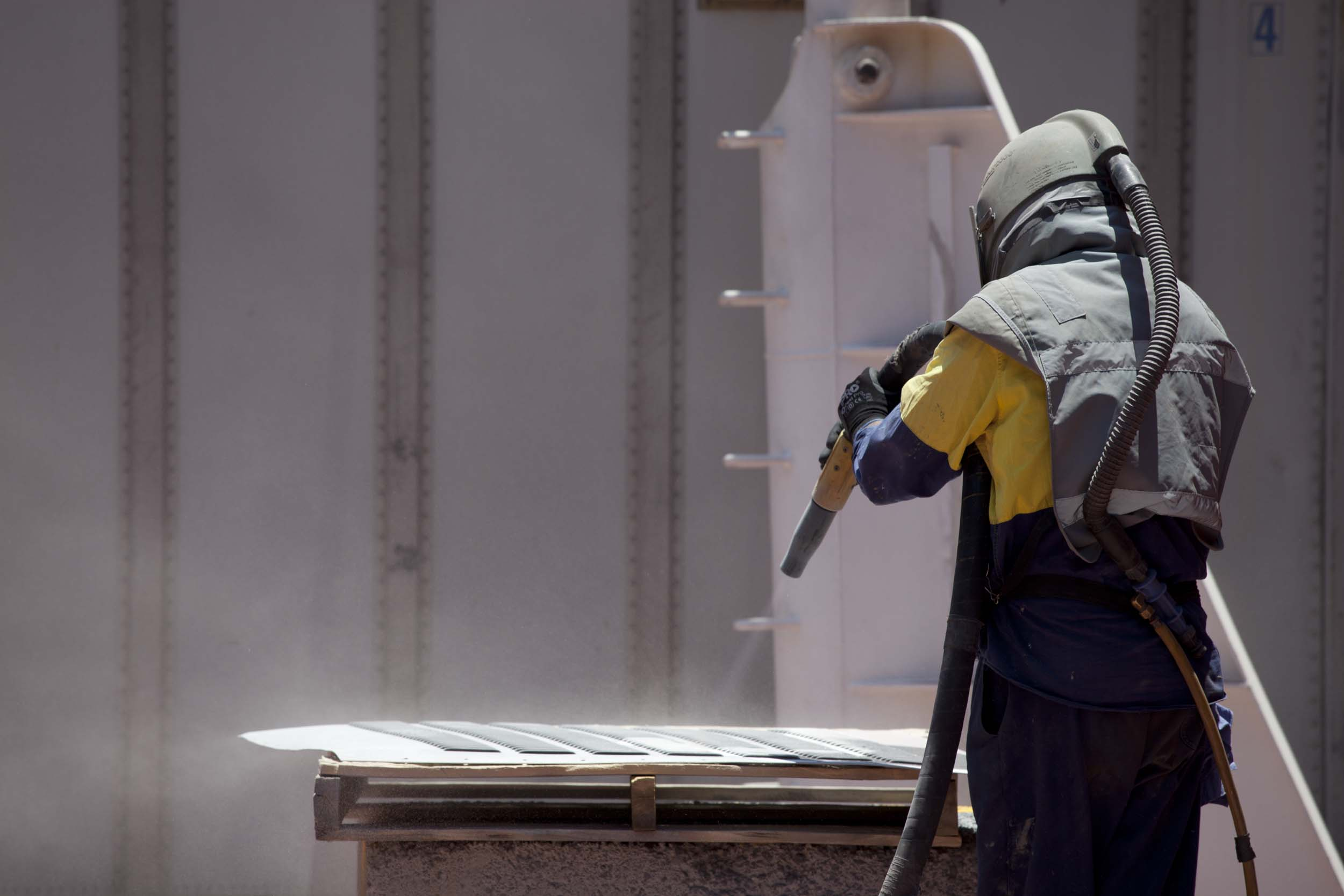 Abrasive Blasting and Coatings
